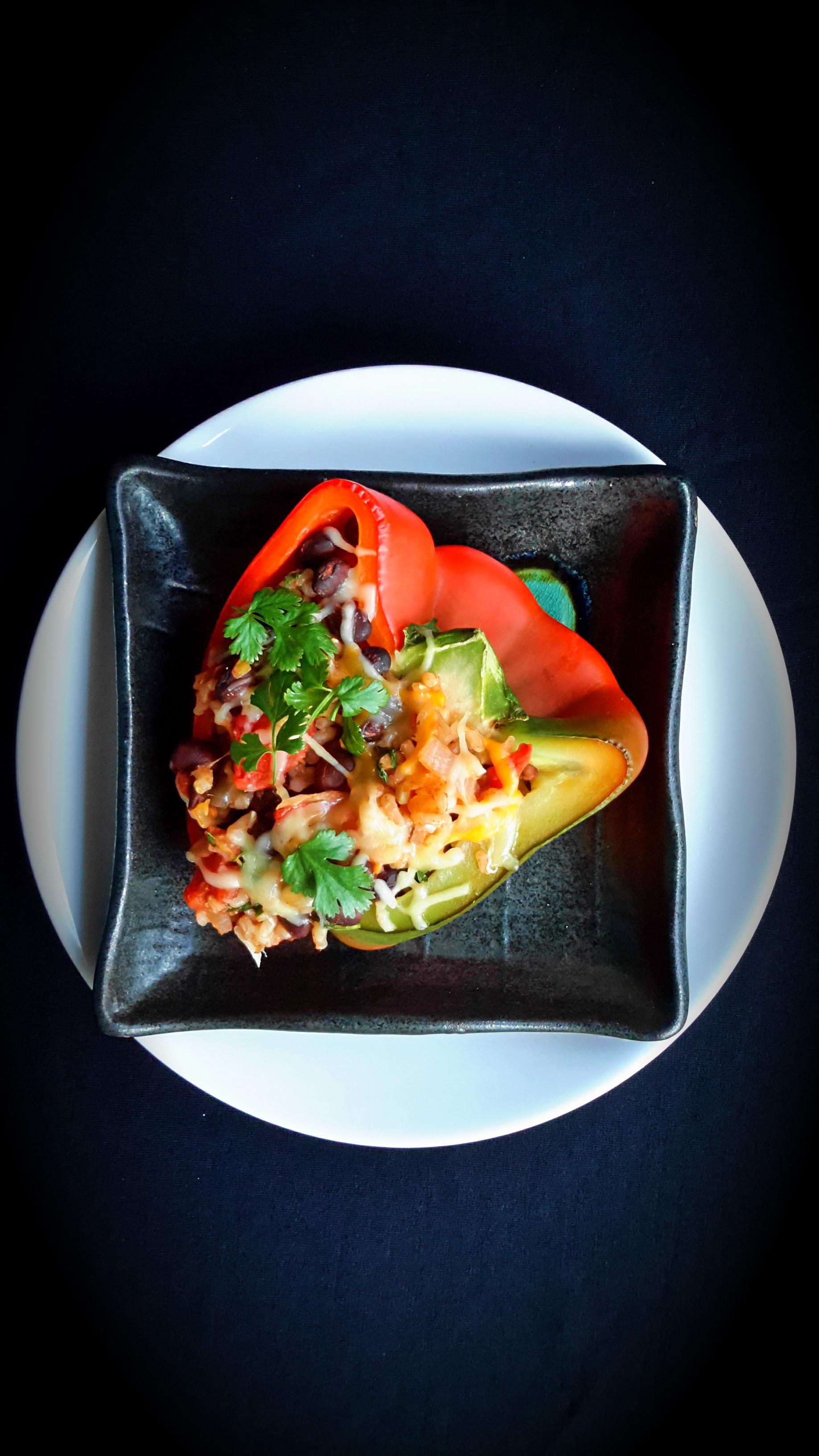 Mexican Stuffed Peppers - cilantroandcitronella.com