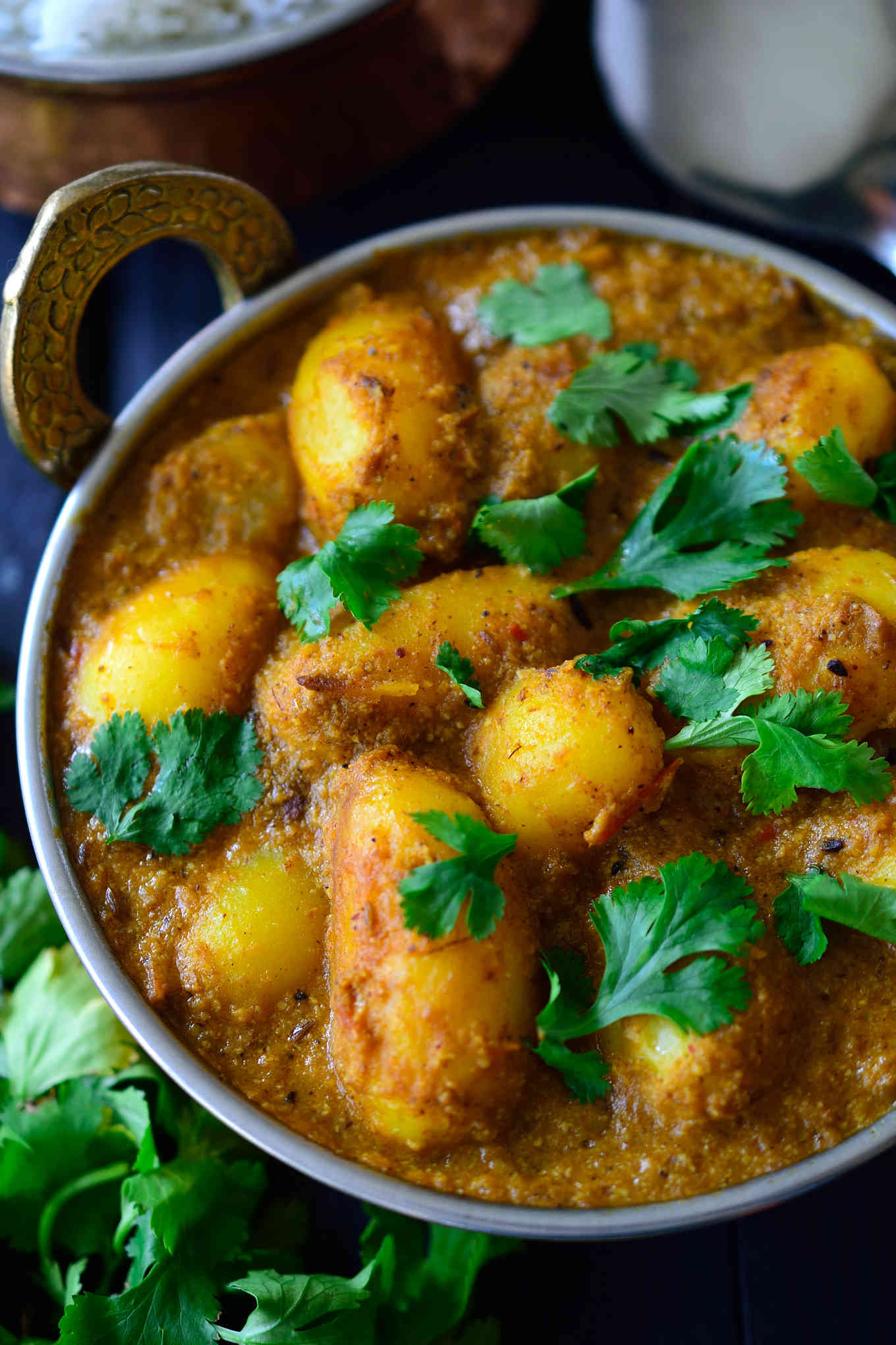 Spicy Vegan Potato Curry | Spicy Foods: Bad or Good?