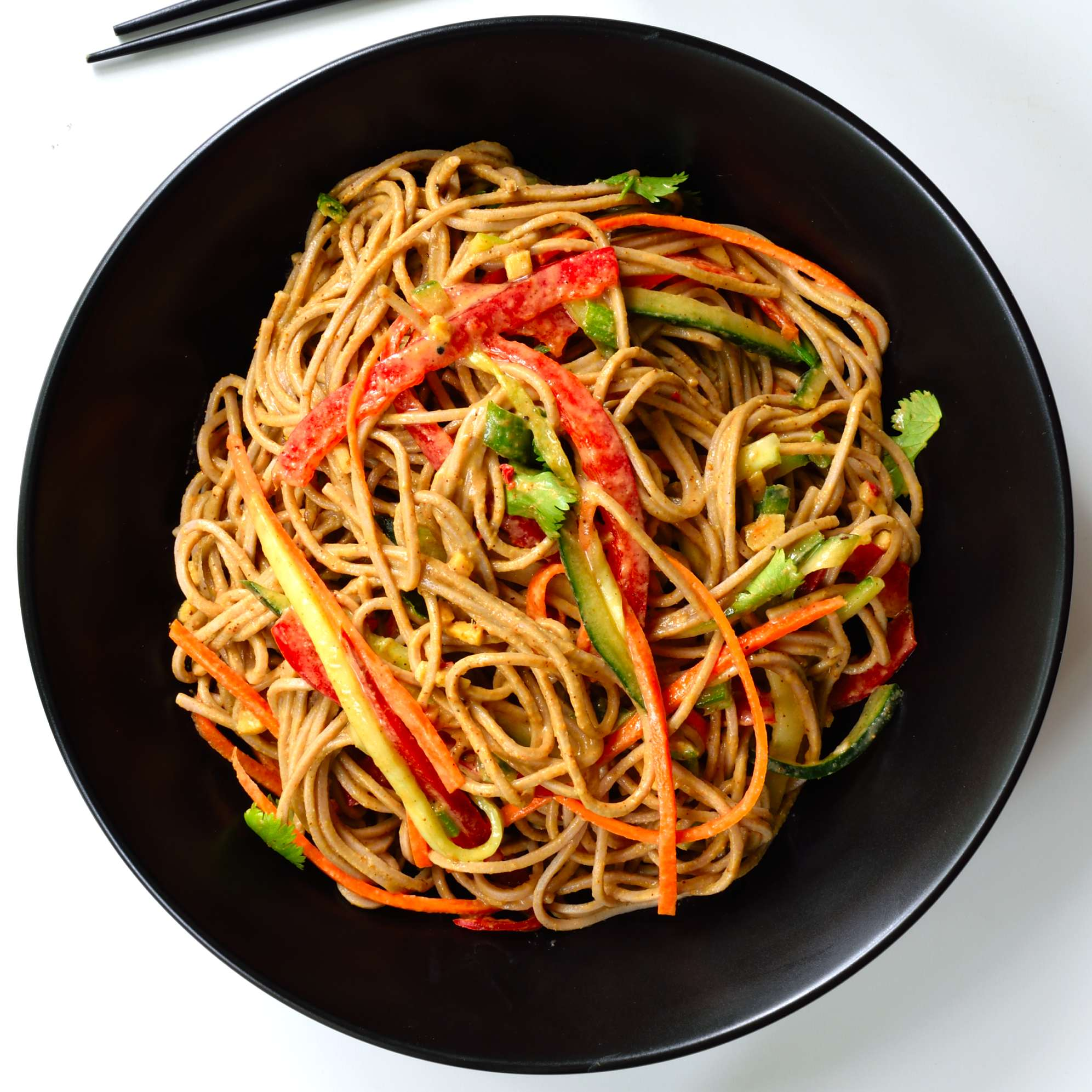 Sesame-ginger soba noodles are another great 30-minute dish. Soba is ...