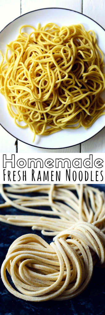 Homemade Ramen Noodles From Scratch Cilantro And Citronella