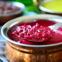 Creamy Vegan Beetroot Curry