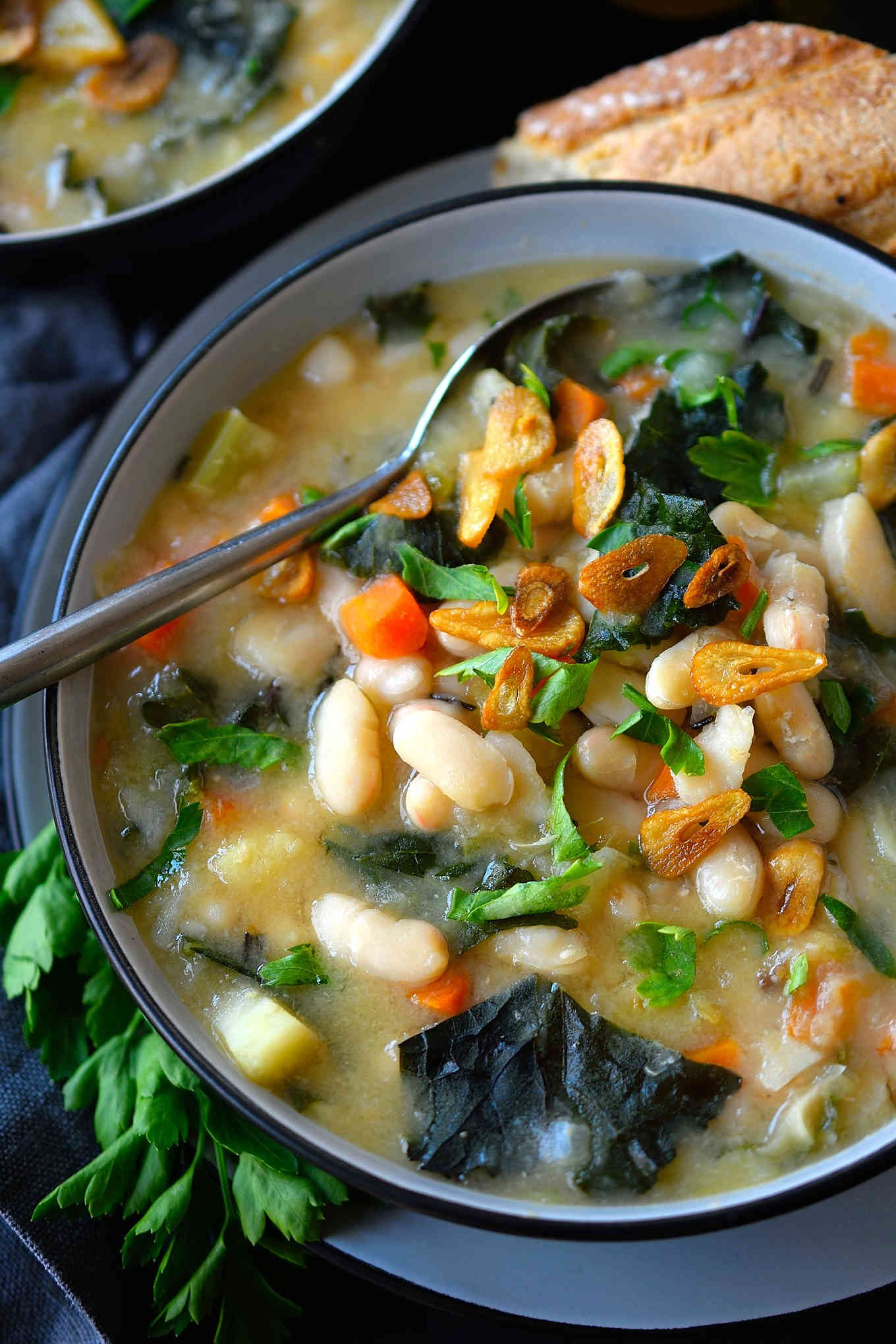 Watch Kale and White Bean Soup video