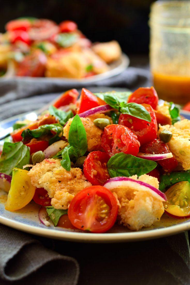 Panzanella Italian Bread And Tomato Salad Cilantro And Citronella