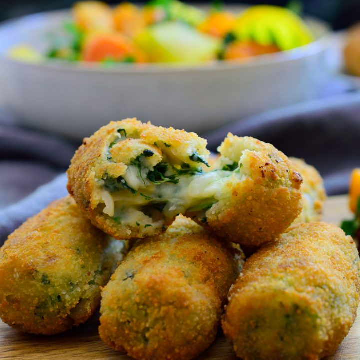 Spanish Spinach Croquettes