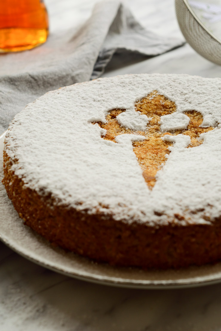 This Spanish Almond Cake Is A Vegan Version Of The Traditional Tarta De  Santiago From Galicia