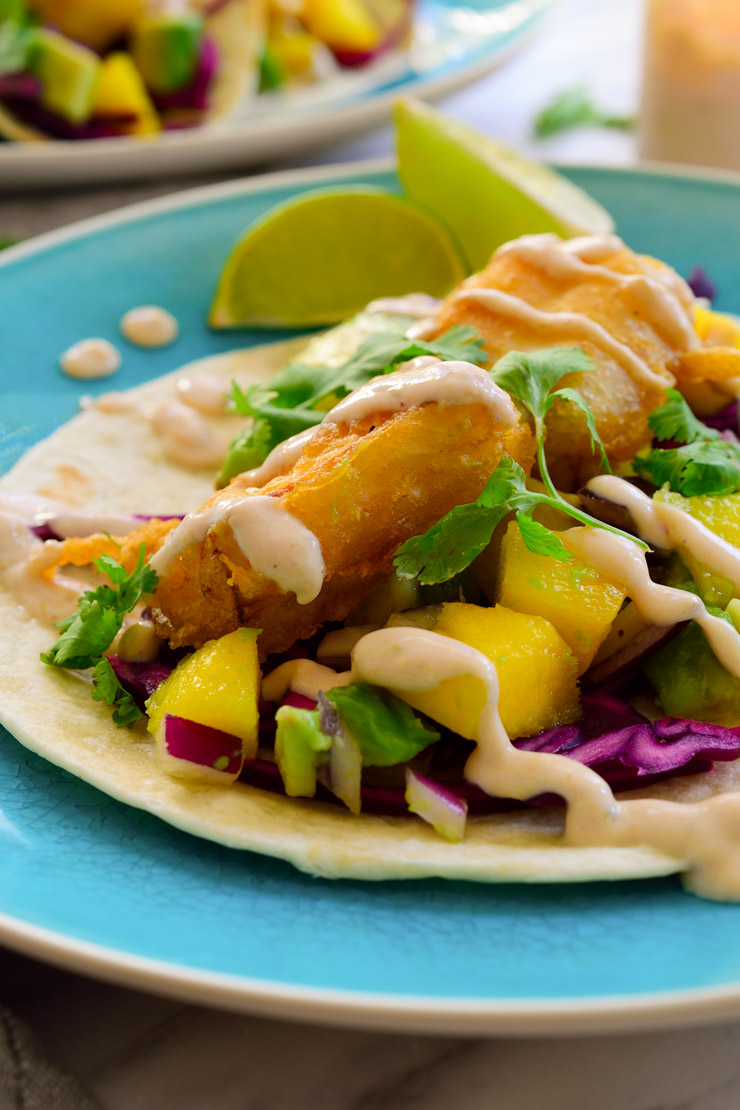 Resultado de imagen para Tacos de Pescado empanizado
