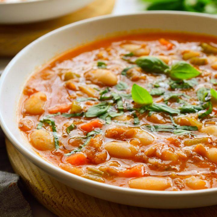 Vegetable Farro Soup