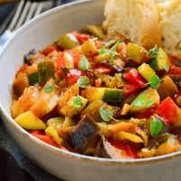 Pisto – Spanish Vegetarian Stew