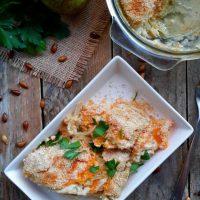Vegan Butternut Squash and Pear Gratin