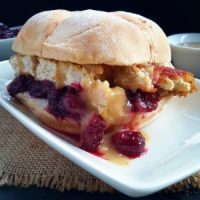 Leftover (Vegan) Turkey Sandwiches