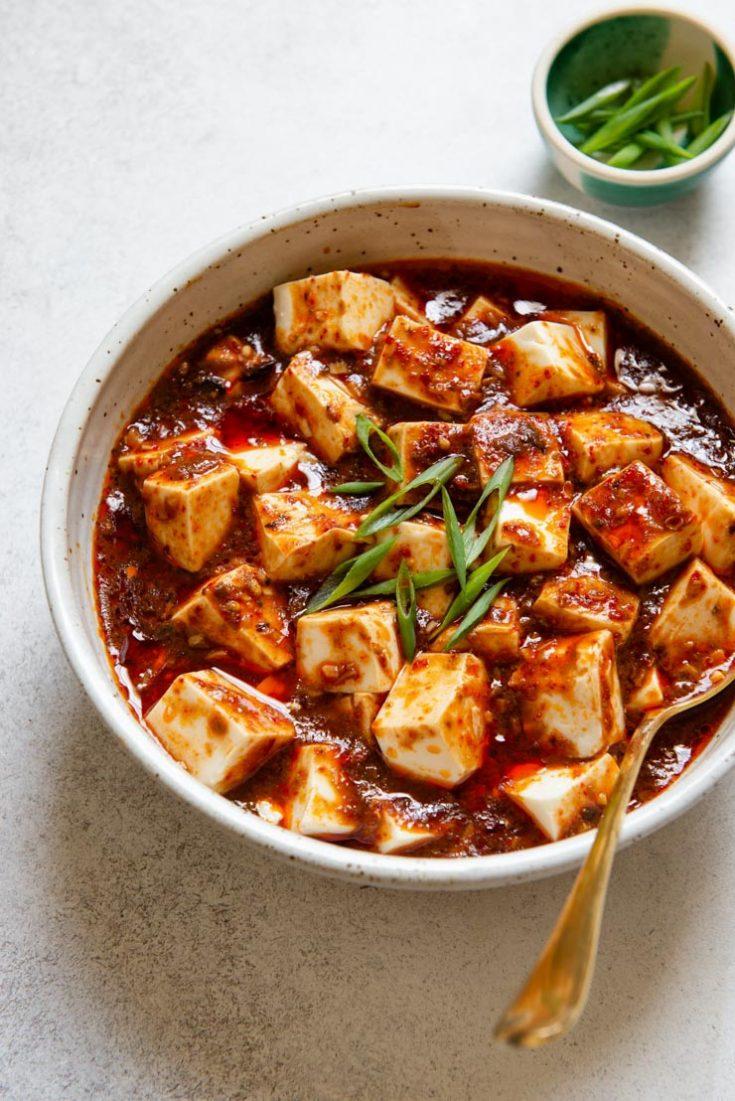 Vegetarian Mapo Tofu (素食麻婆豆腐)