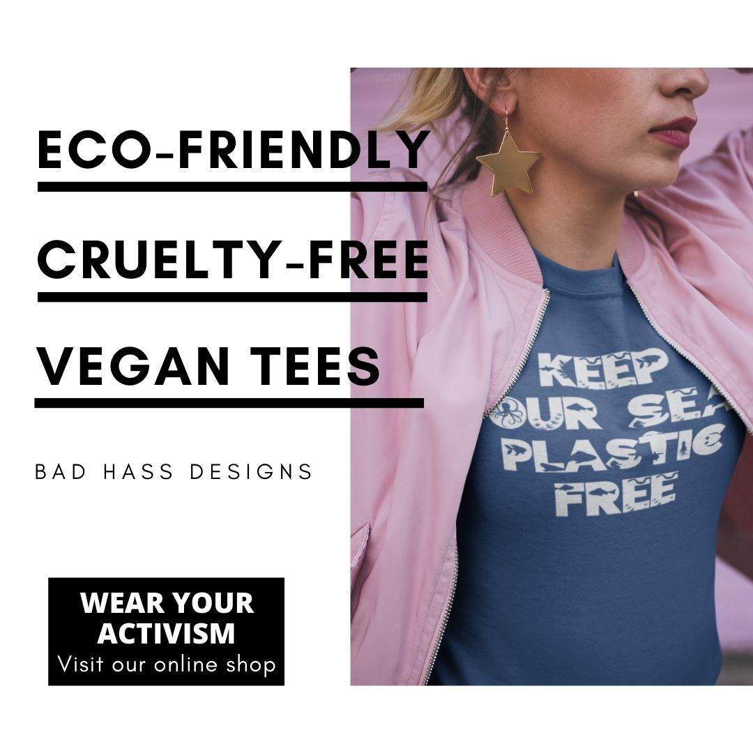 Get a vegan tee